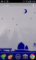 Screenshot of Ink ship Live Wallpaper Pro