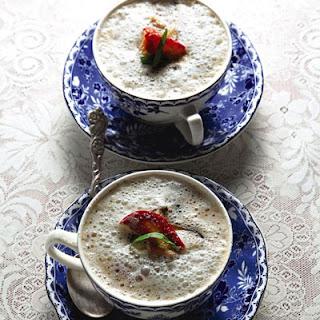 Bouillon de Champignons Comme un Cappuccino (Mushroom Cappuccino)