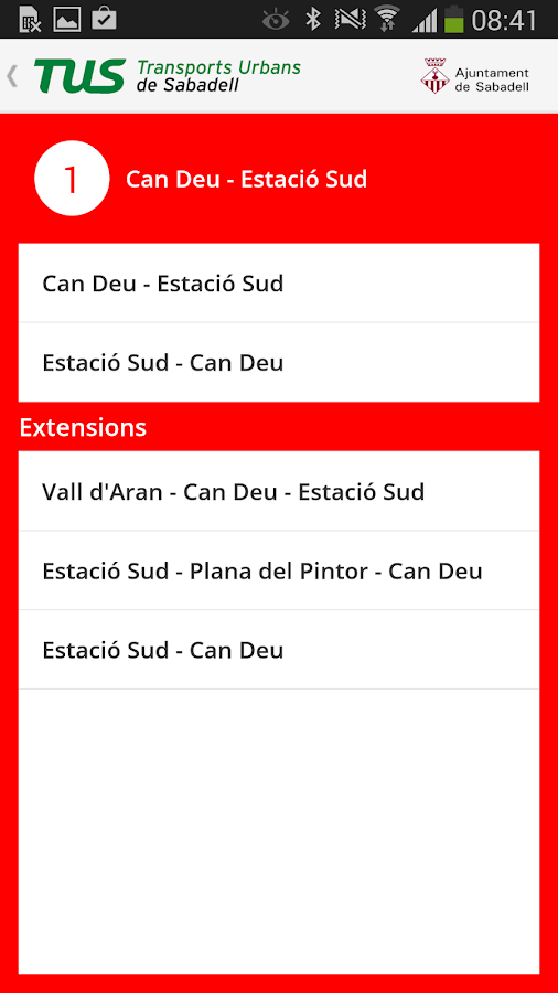 TUS - Bus Sabadell- screenshot