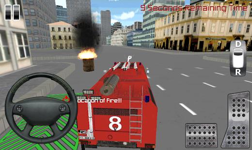 玩免費模擬APP|下載消防隊員卡車模擬3D app不用錢|硬是要APP