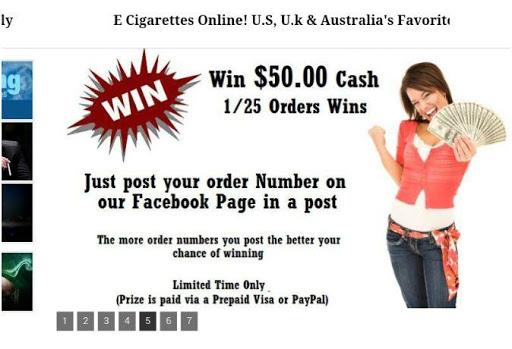 E Cigarettes Online App