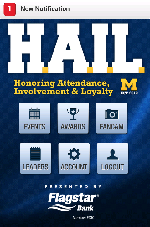 HAIL Michigan Athletics - screenshot