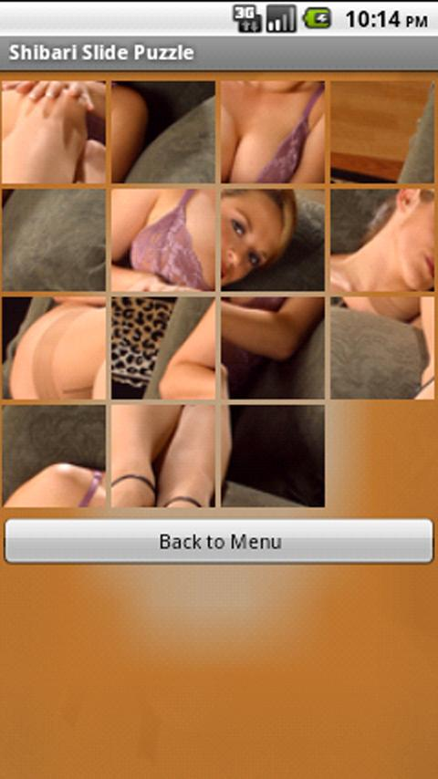 Shibari Slide Puzzle - screenshot