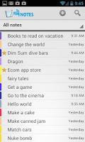 Screenshot of Fliq Notes Notepad