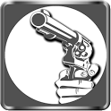 Pistol screen Lock icon