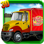 Pizza Truck Drive 3D Game free 1.0 Apk