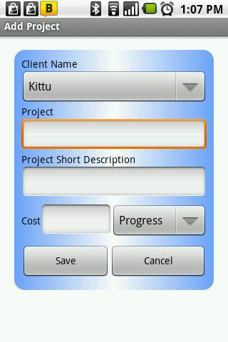 Client Management- screenshot
