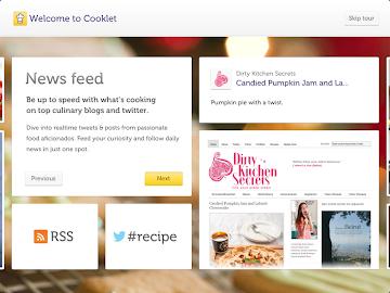 Cooklet for tablets Screenshot 10