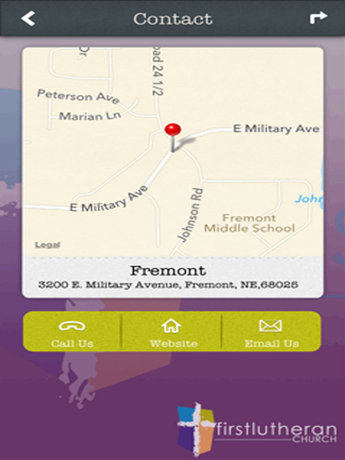 First Lutheran Fremont - screenshot