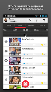 tockit - social TV - screenshot thumbnail