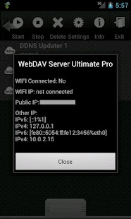 WebDAV Server Ultimate Pro - screenshot thumbnail