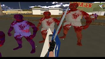 Screenshot of 3D Sniper - Zombie Smash