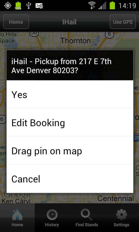Metro Taxi Denver- screenshot