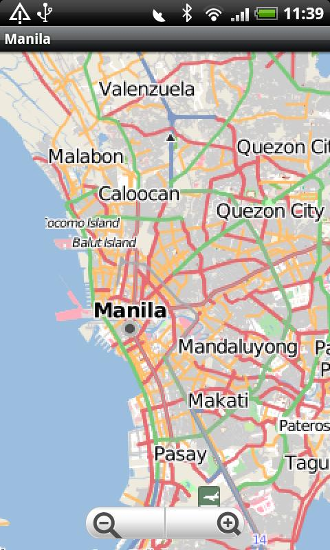 Manila Street Map- screenshot