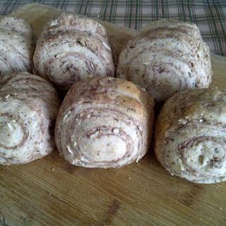 Chocolate Swirled Milk Buns -tangzhong Method (vegan Friendly).