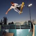 Skateboard boy: FREE logo