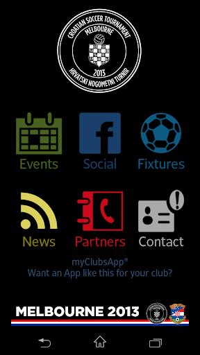 Melbourne Croatian Soccer 2013
