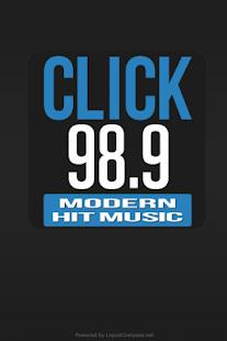 Click 98.9 - screenshot thumbnail