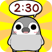 Pesoguin Clock Full -Penguin-