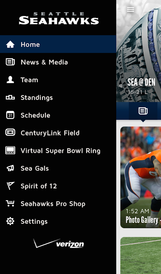 Seattle Seahawks Mobile - Android Apps on Google Play