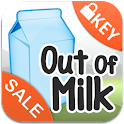 Out of Milk Pro Unlocker logo