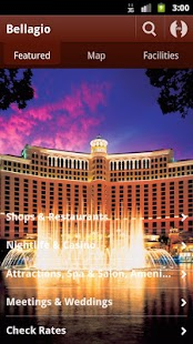 Bellagio Las Vegas - screenshot thumbnail