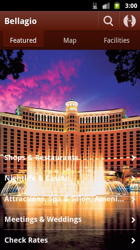 Bellagio Las Vegas - screenshot