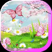 Pink Dreams 3D live wallpaper