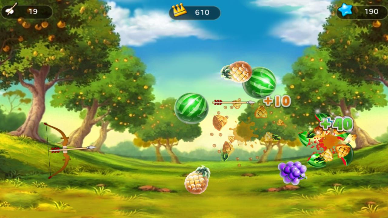 Fruit shoot game - Screenshots