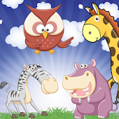 Zoo Memory Game for Toddlers