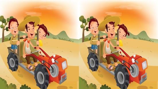 Happy Farm Find Differences- ekran görüntüsü küçük resmi