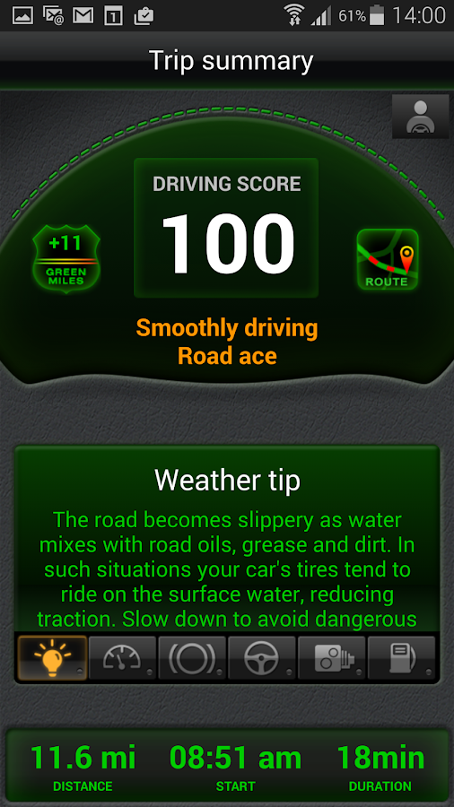 Drivewise.ly - with friends!- screenshot