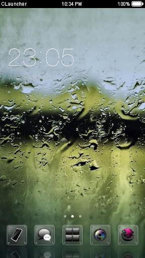 玻璃水滴桌布-個性化主題
