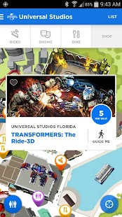 Universal Orlando® Resort App Screenshot 2