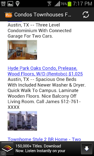 Condos Townhouses For Rent USA