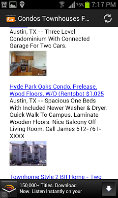 Condos Townhouses For Rent USA - screenshot