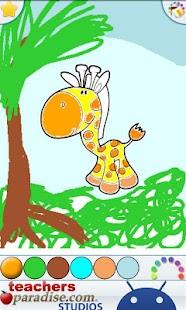 Jungle Animals Coloring Book- screenshot thumbnail