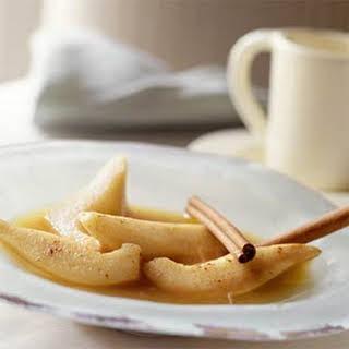 Caramel Pears.