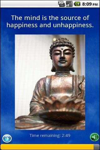 Buddhist Meditation Trainer - screenshot