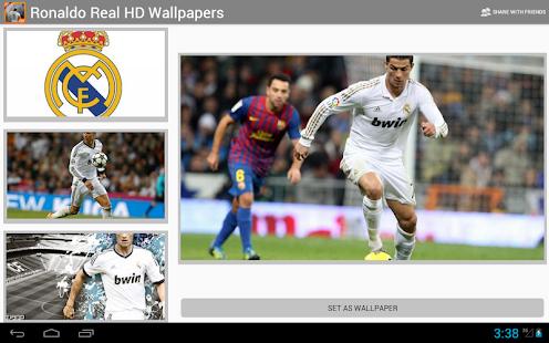 Ronaldo de Real écran HD - screenshot thumbnail