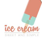 카카오톡테마-  아이스크림톡 icecream talk!