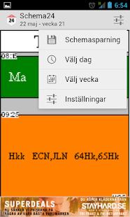 Schema24 - Skolschema för alla - screenshot thumbnail