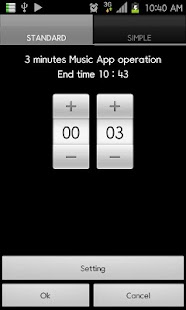Music Timer Widget(Music off) - screenshot thumbnail