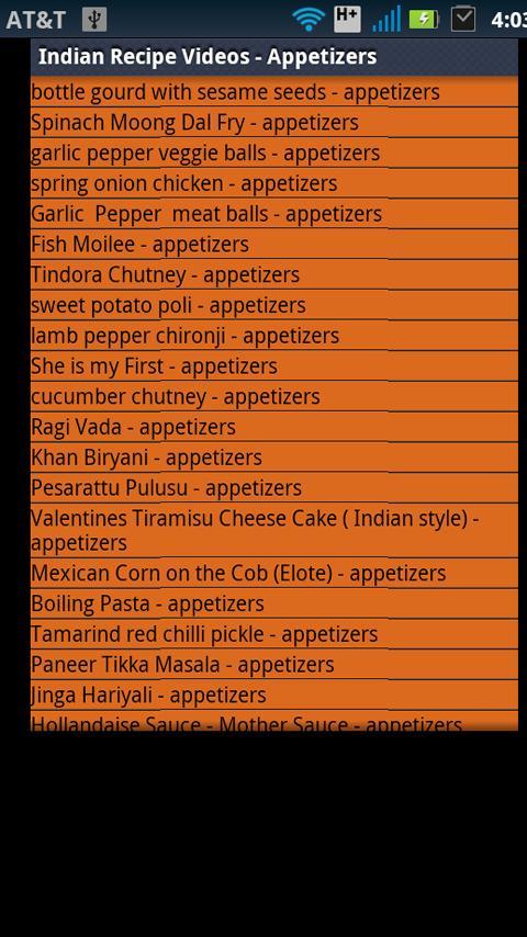 Indian Recipes Videos- screenshot
