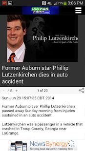 WDHN News- screenshot thumbnail