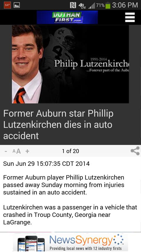 WDHN News- screenshot