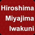 Hiroshima Miyajima Iwakuni icon