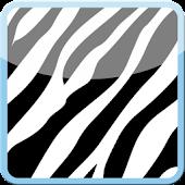 Complete Blue Zebra Theme