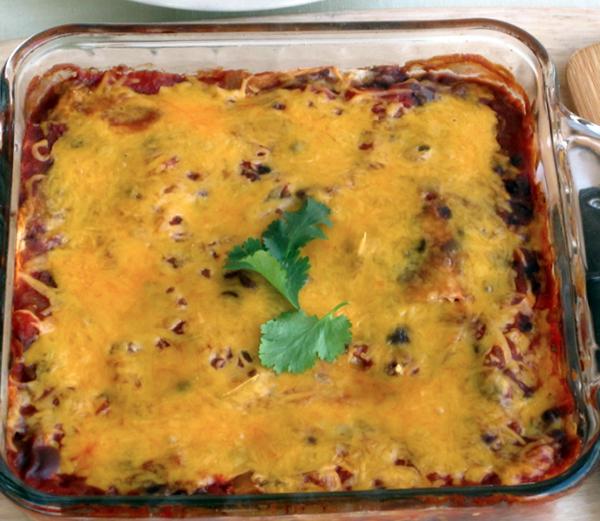 Southwestern Black Bean Casserole Recipe