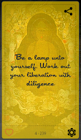 Screenshot of The Buddha Quotes